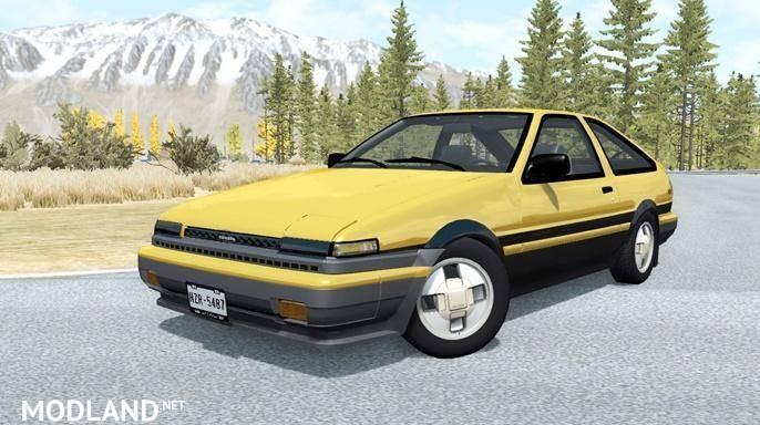 Toyota Corolla GT-S Sport Liftback (AE86) 1985 [0.13.0]